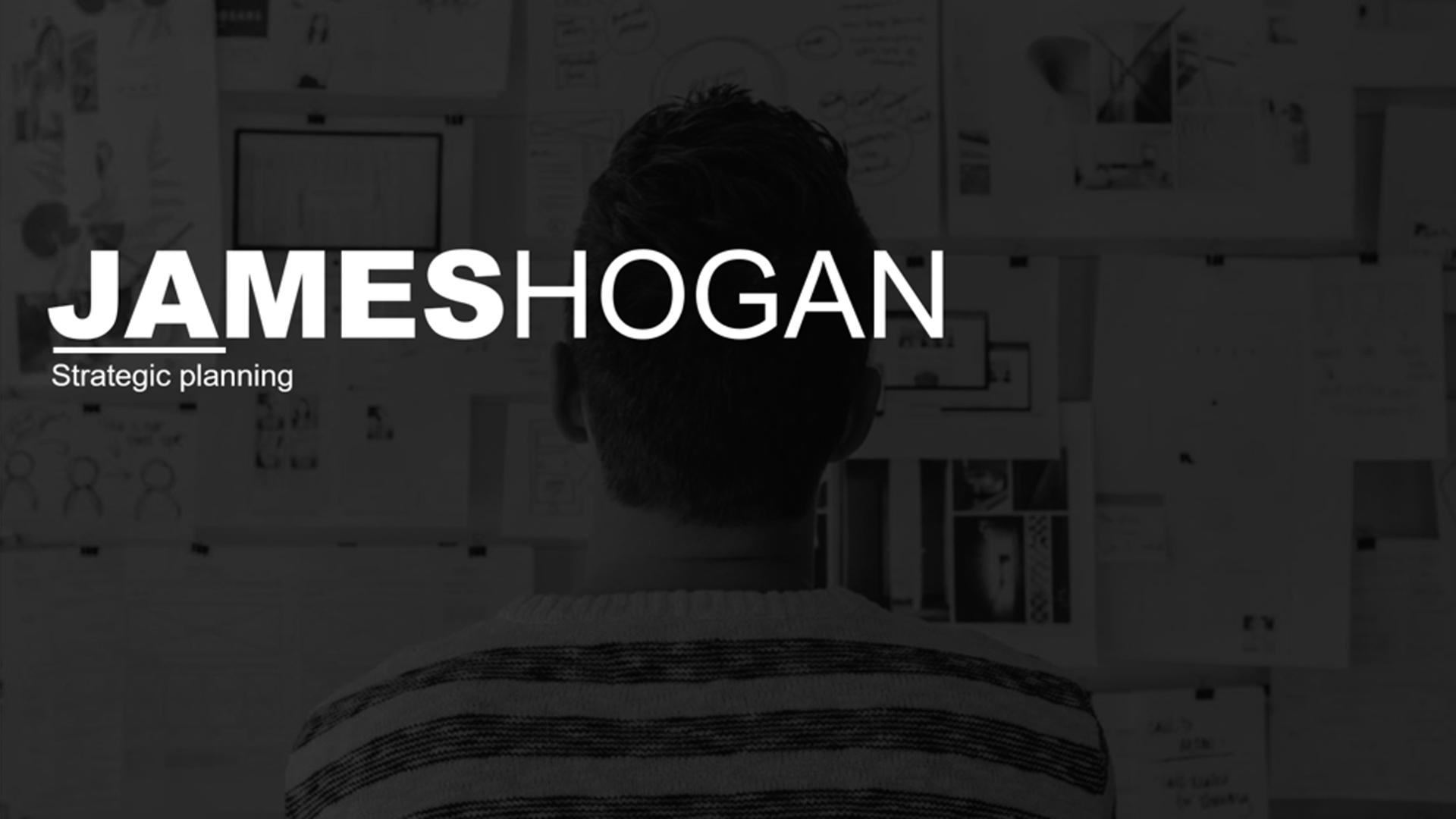 James Hogan | B2B Strategic Planning presentation